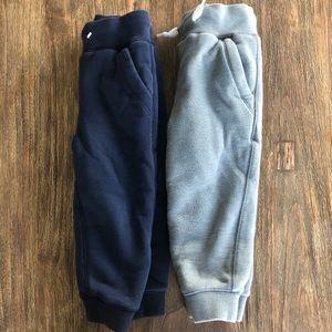 Baby Gap fleece lined sweatpants